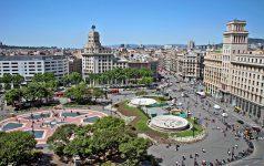 Barcelona. Plaza de Cataluña
