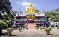 Dambulla_Goldener Buddha