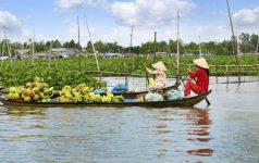 Mekong Schwimmender Markt