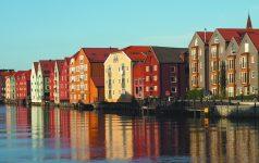 Trondheim Wharf Buildings