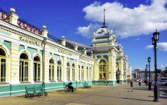 Irkutsk, Bahnhof