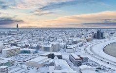 Reykjavik im Winter_-� Ragnar Th Sigurdsson (Iceland.is)
