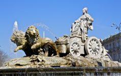 Madrid. Fuente de Cibeles