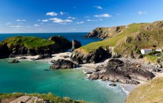 Kynance Cove on the Lizard Peninsula Cornwall England UK