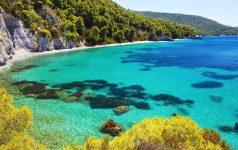 Neo Klima, elios, Hovolo beach,Skopelos island, Sporades island,