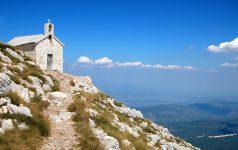 Mountain church in the Croatia