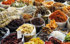 Herb market in Aleppo - Syria