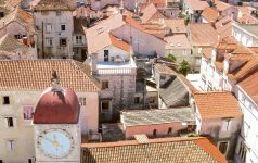 Trogir (Trau), Croatia, panorama