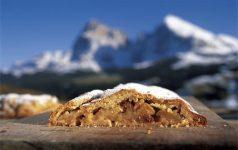 Südtiroler Apfelstrudel © Sonnenhotel Adler