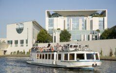 Berlin, Schifffahrt auf der Spree, 10.10.2008